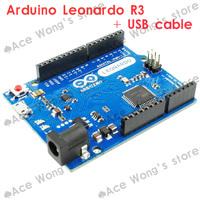 Freeshipping ! 100% new Leonardo R3 development board Board + USB Cable compatible