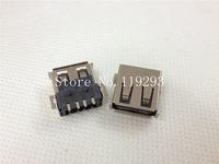 [ SANY ] | Chip USB socket USB-A type connector female--100PCS/LOT