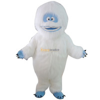 Free Shipping! Real Pictures! Dexule Abominable Snowman Mascot Costume, Yeti Mascot Costume, With Fan & Helmet FT30587