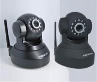 Foscam CCTV WiFi Wireless Pan/Tilt IR IP Camera FI8918W 2-Way Audio iphone View Black+ free gift (8GB mp4)