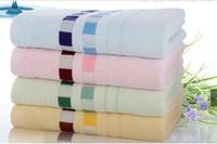 Hot sale 1pcs/lot 140x70cm, Towel, Bamboo towel,100%Bamboo fiber  Solid color, Nice soft