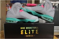 hot! Free Shipping New Famous Player lebron IX 9 P.S Elite South Beach Mens Basketball Shoes,lebron for men, sports shoes