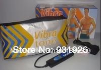 free shipping wholesale vibra tone massage belt vibration function weight loose fat burning slimming belt gift high quality