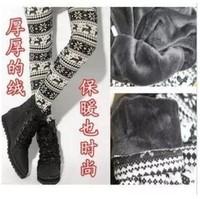 autumn and winter beaver velvet thick women  warm pants Leggings pantyhose  K549
