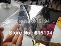 Free Shipping 152cm*60cm Chrome Mirror Film With Air Bubble Free Chrome Foil Chrome Car Body Wrap Film