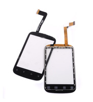Original New Digitizer For HTC A310 touch screen black free shipping MOQ 50 pcs/lot free shipping fedex 3-7 days