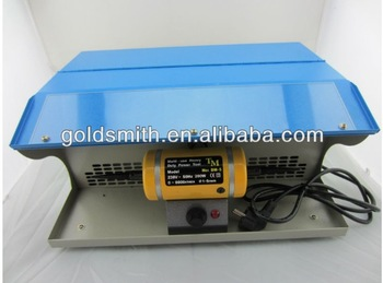 mini table polisher,Polishing motor with Dust Collector,mini jewelry bench lathe