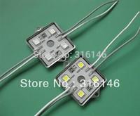 4leds 5050 SMD LED Modules Advertising Signage Illumination,Lighting box & Channel Letter waterproof DC12V DHL free shipping