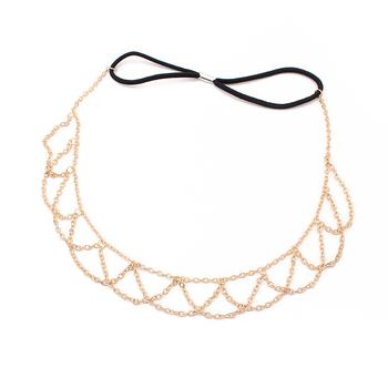 Boho Head Chain, Princess wind Bohemian Hair Chain, Hair Accessories, Women's Hair Trendy Fashion