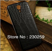 Black Carbon Fiber Housing Battery Back Cover For Samsung Galaxy S4 i9500 Free Shipping