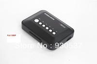 Full 1080P advertising digital media player HDMI +CVBS+USB+SD MMC card player Free shipping