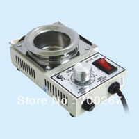 1pc new Solder Pot Soldering Desoldering Bath 50mm 220V 150W ST21C ST-21C Silver,freeshipping