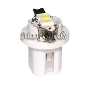 10x Super Bright 0.6W 6000-6500K B8.5 2-3528 SMD LED White Light Car Dashboard Lamp Bulb
