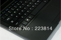 DHL free to usa  13.3inch notebook with LED screen 2gb/320gb hd win7 os DHL free