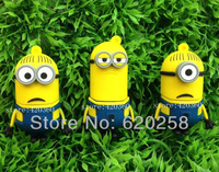 Wholesale Hot  Despicable Me 2 Minions 4GB - 32GB  Dave, Kevin, Stuart  USB 2.0 Flash Memory Stick Drive Thumb/Car/Pen