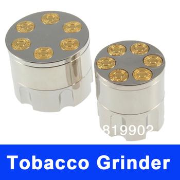 Small Bullet Metal Tobacco Grinder Snuff Smoke Herb Grinders Cigar Magnetic