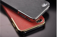 Stick a leather Phone Case For iPhone4G 4S Free shipping cheap