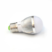 20pcs E27 3*1W bulb led light spot light 3W LED Energy Saving Light Bright Lamp