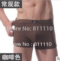 Trend Knitting Free shipping 2 pcs a lot 2013 New fashion Men's Casual Boxers Modal comfortable slim Sexy underwear Size L-XXXL