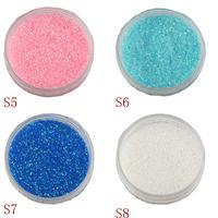 Nail art supplies glitter powder finger accessories laser powder gradient glitter set