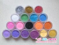 18 shallops box powder phone case beauty nail art materials glitter cross stitch diy material