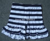 2014 Available new baby double ruffled shorts, cotton ruffle shorts for baby girls, wholesale cotton ruffle shorts shipping free