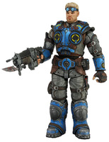 NECA GEARS OF WAR Damon Baird ACTION LOOSE FIGURE XMAS TOY