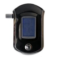 New AT6000 Smart MCU Control Breath Alcohol Tester Analyzer Breathalyzer LCD