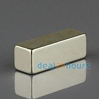 1PC Big Super Strong Block Magnet 30mm x 10mm x 10mm Rare Earth Neodymium N35 Free Shipping