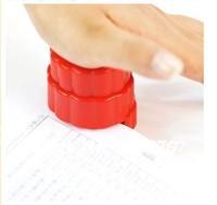2pcs new Mini Stapless Stapler No Staple Binder Paperclip Office Eco-Friendly eco friendly ,freeshipping