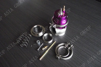 60MM Wastegate - Stainless Steel V BAND 1jzgte / SR20DET / JDM  Purple