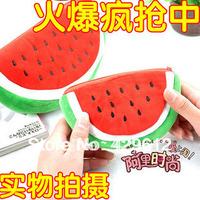 Watermelon bag watermelon coin purse bags coin purse pencil case 2013