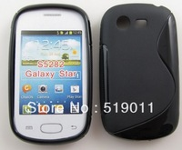 Galaxy Star case,Anti-skid S line Soft TPU Gel Case For Samsung Galaxy Star s5282 Free Shipping