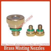 3/16 Brass Misting Nozzles 20-pack, Low pressure mist cooling nozzle. Brass nozzle.Orifice 0.3mm
