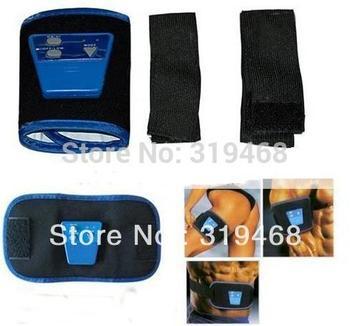 2pcs/lot RA AB Arm Leg Waist Massage Belt AB Gymnic Electronic Massager Sports Muscle Belt Nylon Free China Post Shipping