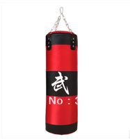 Free shipping best quality 100cm 1000D Fabric  Empty Boxing  sandbags + boxing gloves +2m boxing bandage+ hook