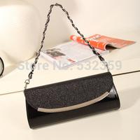 NB054 - NEW Women's Handbag 2014 Crocodile Pattern Day Clutch One Shoulder Cross-body Chain Of Packet