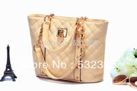NB004 - Fashion 2014 Women's Handbag Fashion All-Match Plaid Bag Handbag Messenger Bag New Arrival