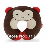 1PC Lovely Lowest Price NEW Cute Hoop Baby Infants Pillows Car Seat Travel Head Neck Rest Soft Safty Animal Print Pillow 670324