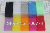 New 0.3mm Ultra thin Frosted case for iphone 5 5s 10pcs/lot Free Shipping