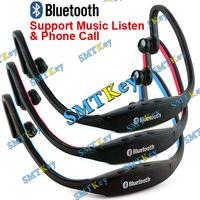 Fashion Sports Wireless Bluetooth Headset Earphone Headphone Earphone for Telehone Accessories support music listen from phone