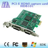All-in-One HD capture card HD/SD input simultaneously capture 1 3G/HD/SD-SDI,HDMI,DVI,VGA,YPbPr,CVBS signal