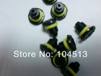 Black & gray Replacement Earphone Jack Covers Screw Seal Cap For iphonev 4 4S 5 Waterproof Case DHL FAST SHIPPING,1000pcs/lot