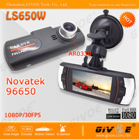 Best LS650W Full HD 1080P Car Dashboard Camera with NTK96650 + AR0330 + Super Night Vision + 720P 60FPS + Free Shipping
