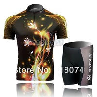 New Cycling Bike Women Bicycle Short Sleeve Clothing Suit Jersey + Shorts S-3XL HJ-3
