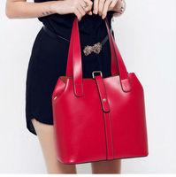 Women high quality genuine leather famous fashion totes bolsa bag for gift  shoulder bag  bolsos sac saco borsa free shipping