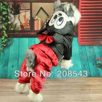 Free shipping !!!Winter Pet Dog Clothes Mickey Mouse C-0289 Free Shipping Discount Overall Jumpsuit Clothing!!!