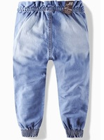 2013 New children 's jeans cotton Denim kids jeans girls pants baby trousers size:2/3t 3/4T 4/5T 5/6T 7/8T 9/10T LJ146