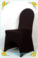 100 pieces BLACK spandex lycra banquet chair covers  wedding decoration/party decoraton
