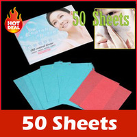 8 bag/lots(50 Sheets/bag) 2014 new Powerful Makeup cleaner personal pore facial Oil Absorbing cleansing Paper for face care